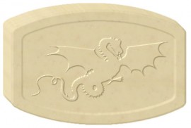 Flying Dragon Soap Mold