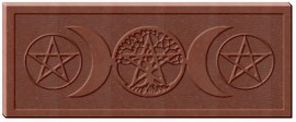 Pentacle Moon Chocolate Bar Mold