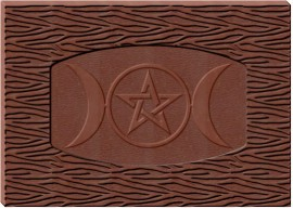 Triple Moon Pentacle Bark Chocolate Mold