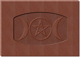 Triple Moon Pentacle Chocolate Mold