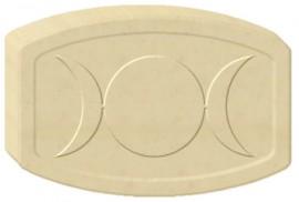 Triple Moon Soap Mold