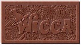 Wicca Wonka Chocolate Mold